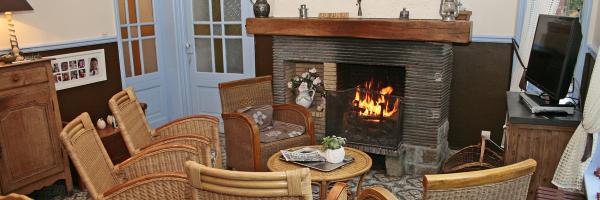 L'hiver vous profiterez de la chaleur de la cheminée