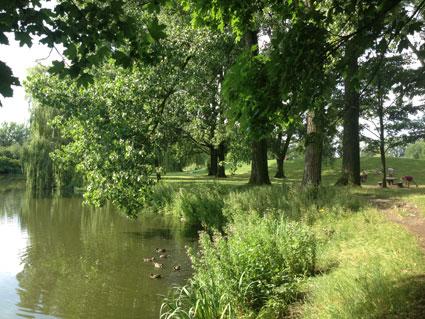 Parc du Héron près de Ferme de Rosembois Gites et chambres d'hôtes à Fournes en Weppes près de Lille
